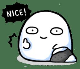 Just a Snowball sticker #13067989