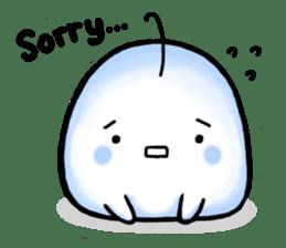 Just a Snowball sticker #13067996
