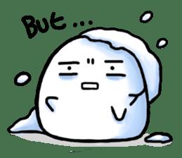 Just a Snowball sticker #13068001