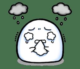 Just a Snowball sticker #13068002
