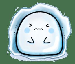 Just a Snowball sticker #13068008