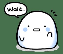 Just a Snowball sticker #13068011