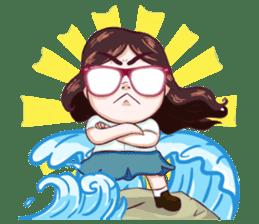 Sunny Shy Girl sticker #13073053