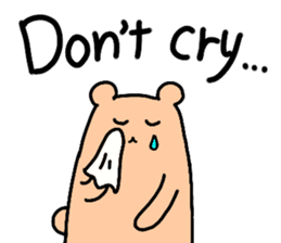 Shiro-san of Bear English version sticker #13076272