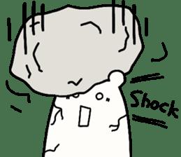 Shiro-san of Bear English version sticker #13076275