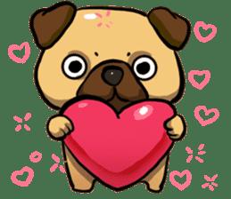 Pugi Pug sticker #13080039