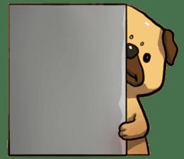 Pugi Pug sticker #13080040