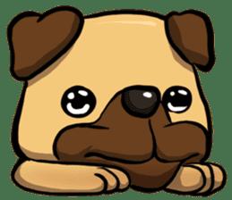 Pugi Pug sticker #13080046