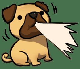 Pugi Pug sticker #13080047