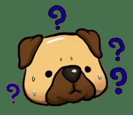 Pugi Pug sticker #13080050