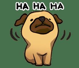 Pugi Pug sticker #13080052