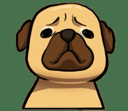 Pugi Pug sticker #13080054