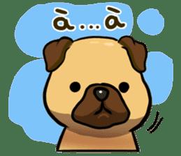 Pugi Pug sticker #13080056