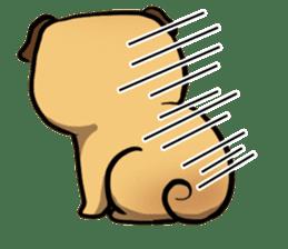 Pugi Pug sticker #13080059
