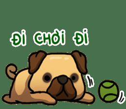 Pugi Pug sticker #13080062