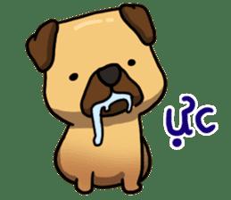 Pugi Pug sticker #13080063