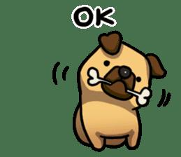 Pugi Pug sticker #13080064