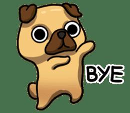 Pugi Pug sticker #13080069