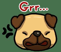 Pugi Pug sticker #13080070