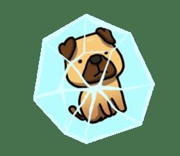 Pugi Pug sticker #13080075