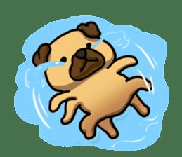 Pugi Pug sticker #13080076
