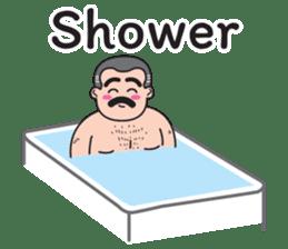 Uncle Beard (Eng) sticker #13083410