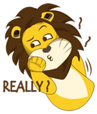 Joy Love Lions sticker #13085628