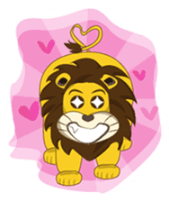 Joy Love Lions sticker #13085641
