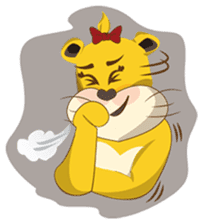 Joy Love Lions sticker #13085646