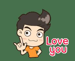 Hello My Love <ANI_ENG> sticker #13093488