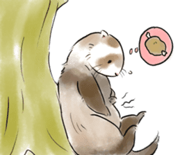 ferret-choju-giga sticker #13096654