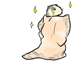ferret-choju-giga sticker #13096677