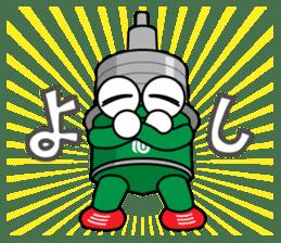 DAMPACHI & DAMPATTY 3 sticker #13100662
