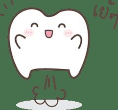 The cutie molar sticker #13100747