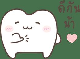 The cutie molar sticker #13100752