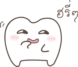 The cutie molar sticker #13100764