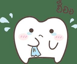The cutie molar sticker #13100768