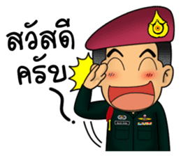 Royal Thai Army Special Forces 2 sticker #13101950