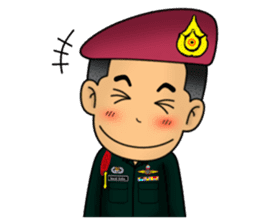 Royal Thai Army Special Forces 2 sticker #13101956