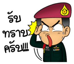 Royal Thai Army Special Forces 2 sticker #13101958