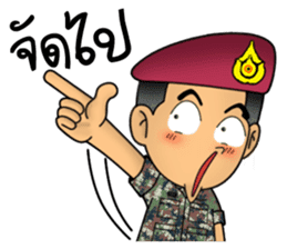 Royal Thai Army Special Forces 2 sticker #13101959