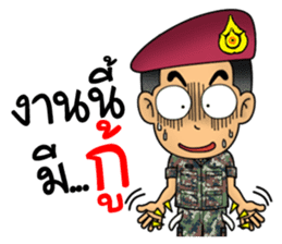 Royal Thai Army Special Forces 2 sticker #13101967