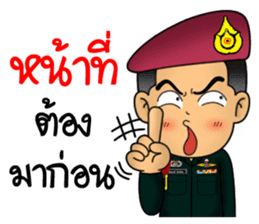 Royal Thai Army Special Forces 2 sticker #13101974
