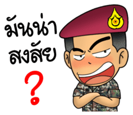 Royal Thai Army Special Forces 2 sticker #13101983