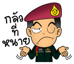 Royal Thai Army Special Forces 2 sticker #13101986
