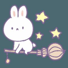 Crayon cute rabbit