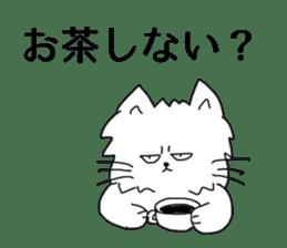 MOP cat sticker #13106372