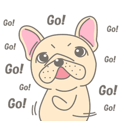 Frenchy the French Bulldog Animated!