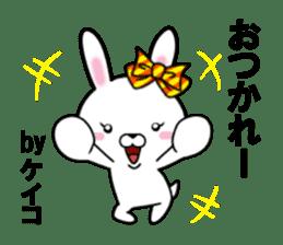 fcf rabbit part26 sticker #13113258