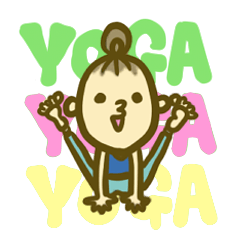 YOGA STICKERS vol.2